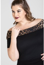 Hell Bunny PRE ORDER Hell Bunny 1950s Panthera Top