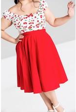 Hell Bunny SPECIAL ORDERHell Bunny Paula Swing Skirt Red