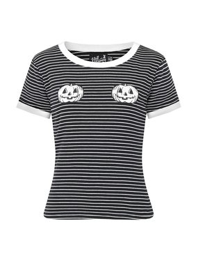 Hell Bunny PRE ORDER Hell Bunny Skelli Striped Top