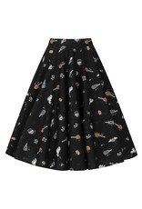 Hell Bunny PRE ORDER Hell Bunny Trick or Treat Swing Skirt
