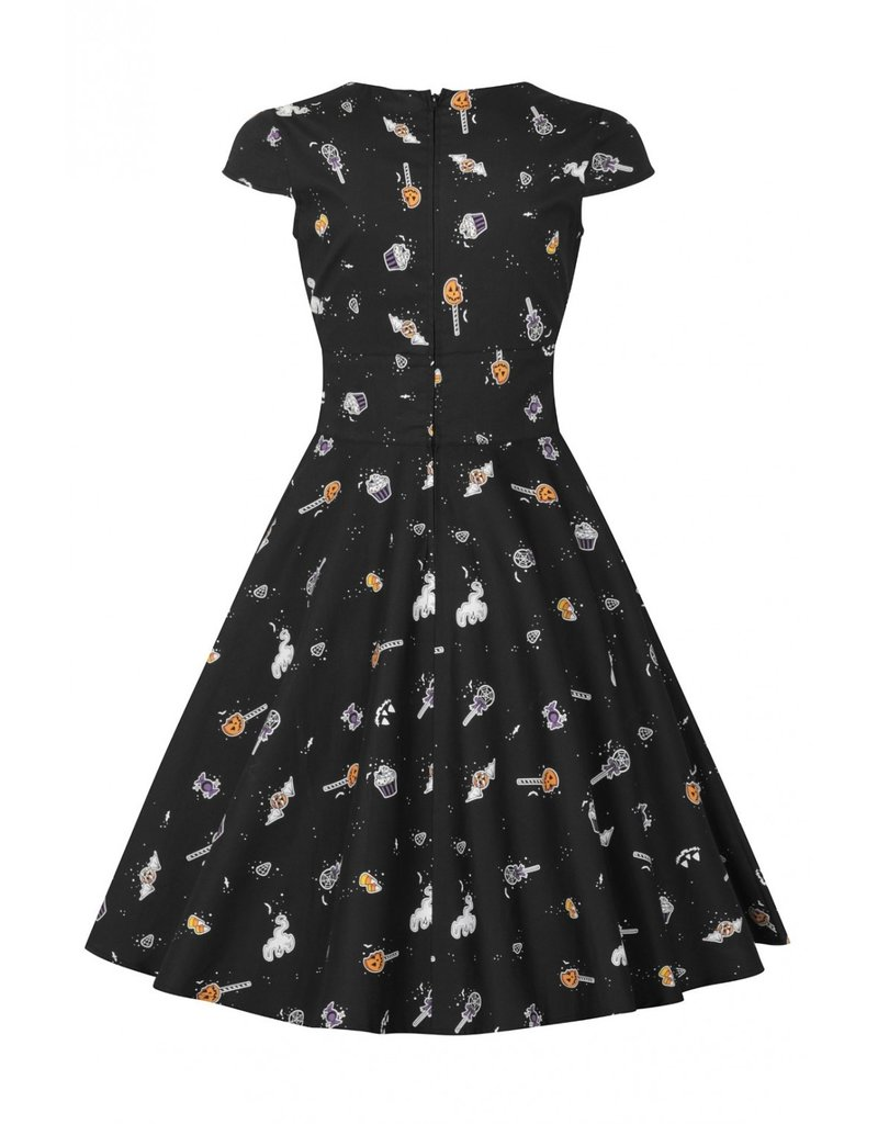 Hell Bunny PRE ORDER Hell Bunny Trick or Treat Swing Dress