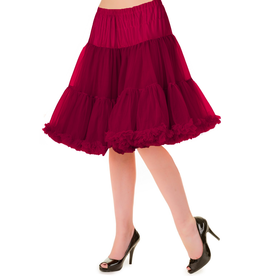Banned PRE ORDER Banned Walkabout Petticoat Bordeaux 21'