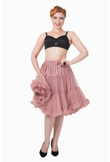 Banned PRE ORDER Banned Starlite Petticoat Dusty Pink 23'