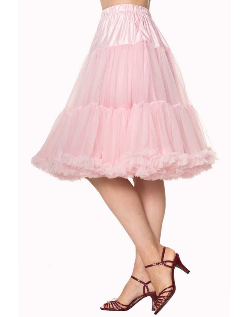 Banned PRE ORDER Banned Starlite Petticoat Light Pink 23'