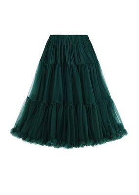Banned PRE ORDER Banned Starlite Petticoat Bottle Green 23'