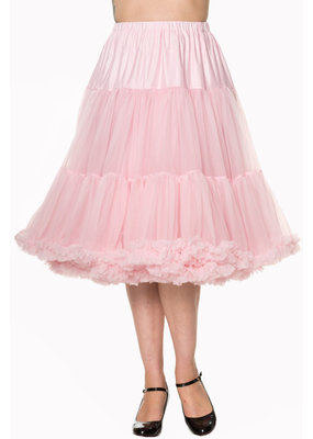 Banned PRE ORDER Banned Lifeform Petticoat Light Pink 27'