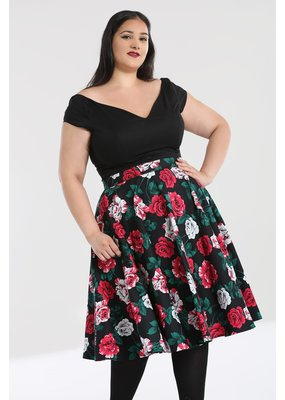 Hell Bunny PRE ORDER Hell Bunny 1950s Ruby Swing Skirt