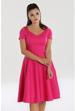 Hell Bunny PRE ORDER Hell Bunny Helen 50s Dress Hot Pink