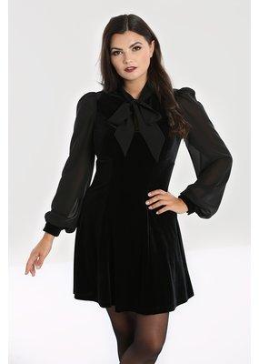 Hell Bunny SPECIAL ORDER Hell Bunny Gabriella Velvet Mini Dress