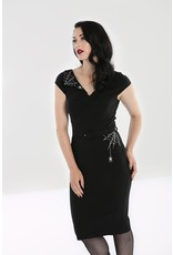Hell Bunny Hell Bunny Miss Muffet Pencil Dress