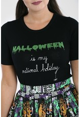 Hell Bunny PRE ORDER Hell Bunny Halloween Forever Knitted Top