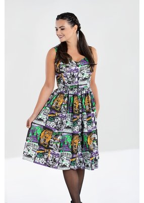 Hell Bunny SPECIAL ORDER Hell Bunny Be Afraid B Movie Dress