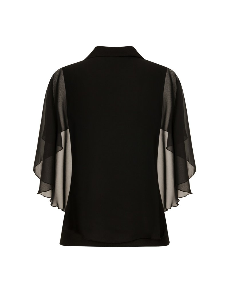Hell Bunny PRE ORDER Hell Bunny Draco Cape Blouse