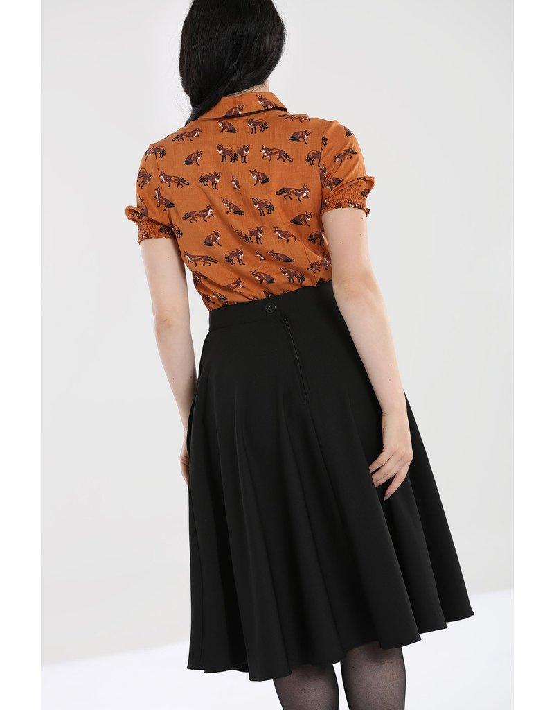 Hell Bunny PRE ORDER Hell Bunny Amelie 50s Skirt Black