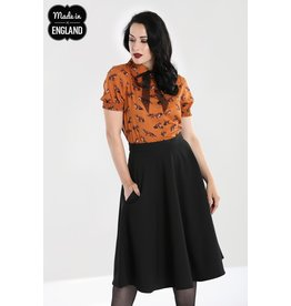 Hell Bunny SPECIAL ORDER Hell Bunny Amelie 50s Skirt Black