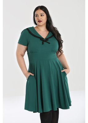 Hell Bunny SPECIAL ORDER Hell Bunny Thea Dress Green