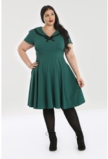 Hell Bunny PRE ORDER Hell Bunny Thea Dress Green