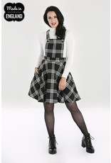 Hell Bunny PRE ORDER Hell Bunny Piper Pinafore Dress Black