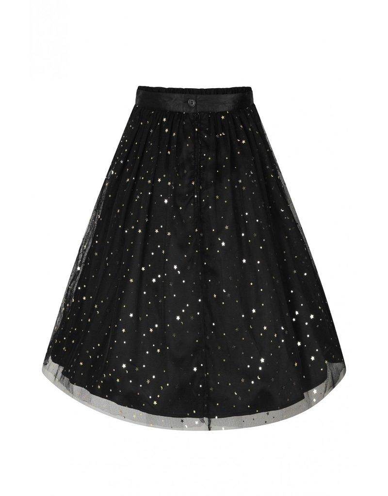 Hell Bunny PRE ORDER Hell Bunny Infinity Stars Tule Skirt