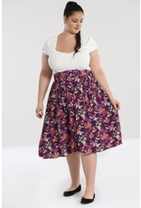 Hell Bunny SPECIAL ORDER Hell Bunny Berry Crush Pleated Skirt