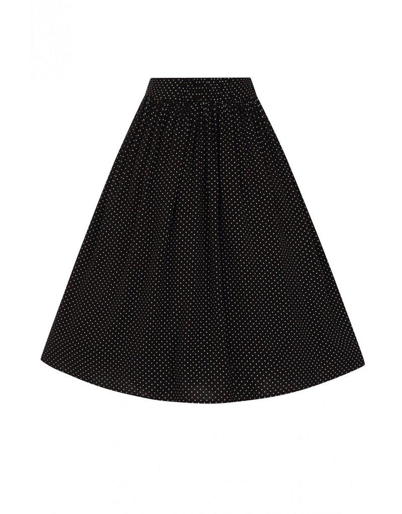 Hell Bunny PRE ORDER Hell Bunny Sophia Dots Pleated Skirt