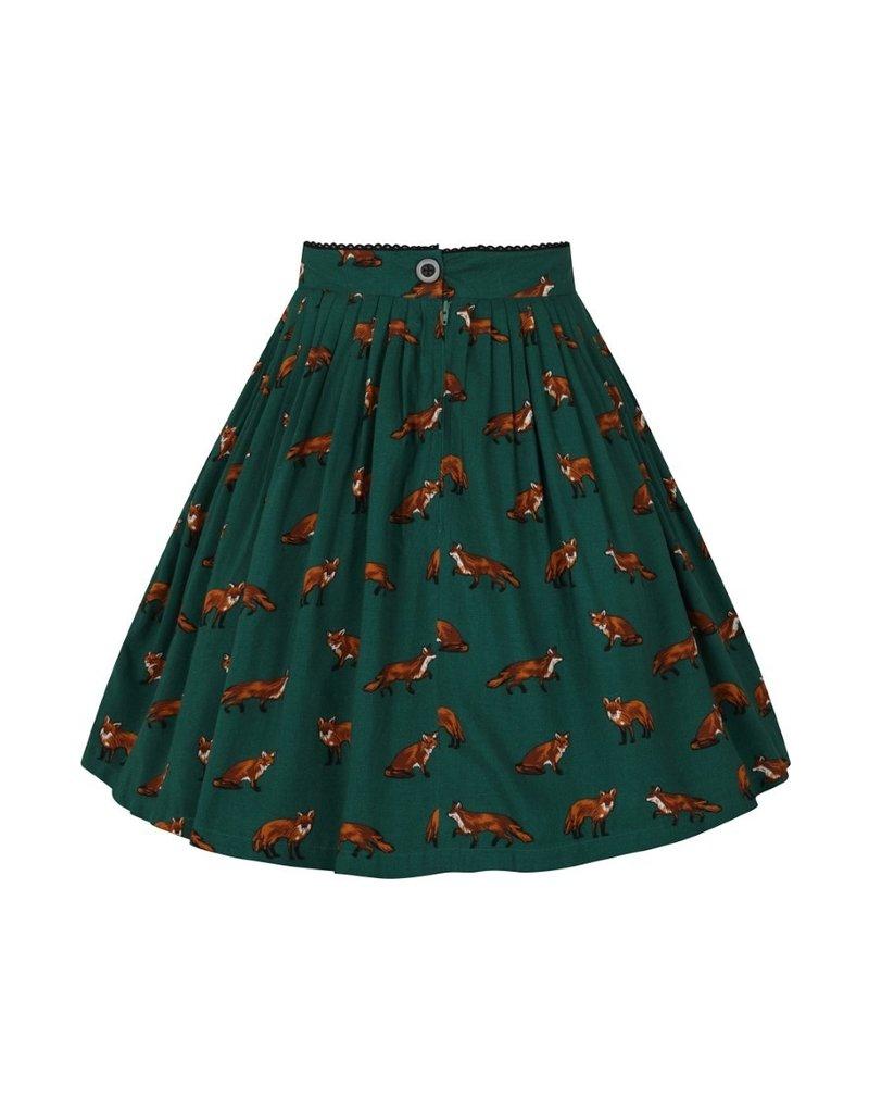 Hell Bunny Hell Bunny Vixey Foxy Mini Skirt