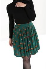 Hell Bunny SPECIAL ORDER Hell Bunny Vixey Foxy Mini Skirt