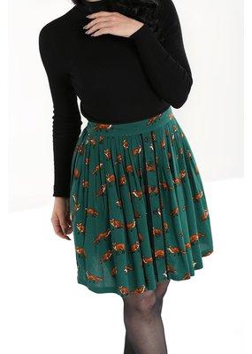 Hell Bunny PRE ORDER Hell Bunny Vixey Foxy Mini Skirt