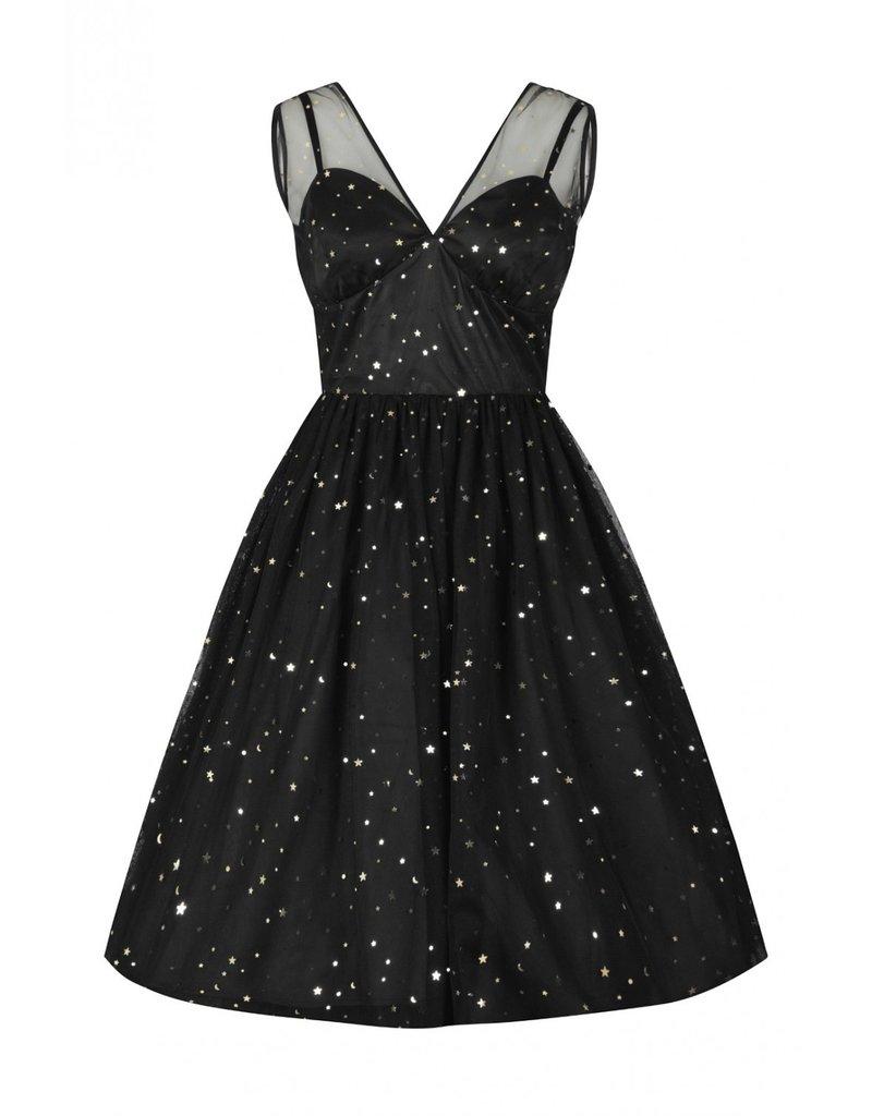 Hell Bunny PRE ORDER Hell Bunny Infinity Stars Tule Dress