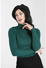 Hell Bunny SPECIAL ORDER Hell Bunny Spiros Knitted Top Green