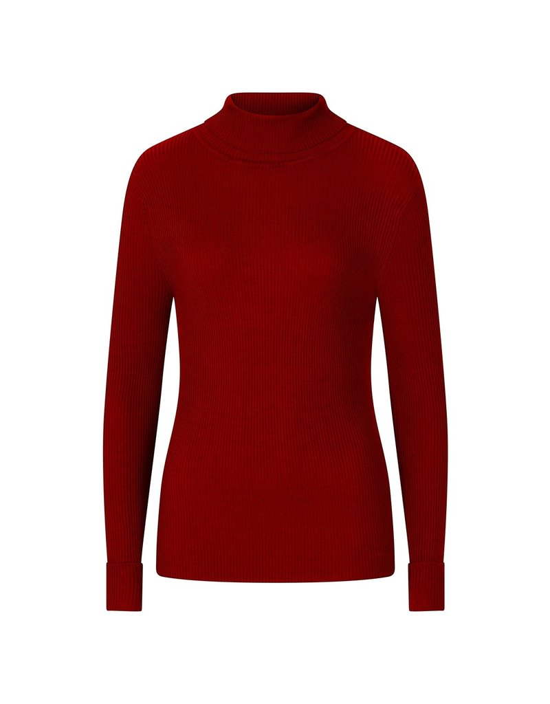 Hell Bunny PRE ORDER Hell Bunny Spiros Knitted Top Burgundy