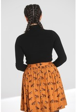 Hell Bunny PRE ORDER Hell Bunny Spiros Knitted Top Black