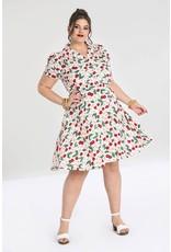 Hell Bunny SPECIAL ORDER Hell Bunny 1940s Simona Cherry Dress