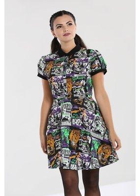 Hell Bunny SPECIAL ORDER Hell Bunny Be Afraid Mini Dress