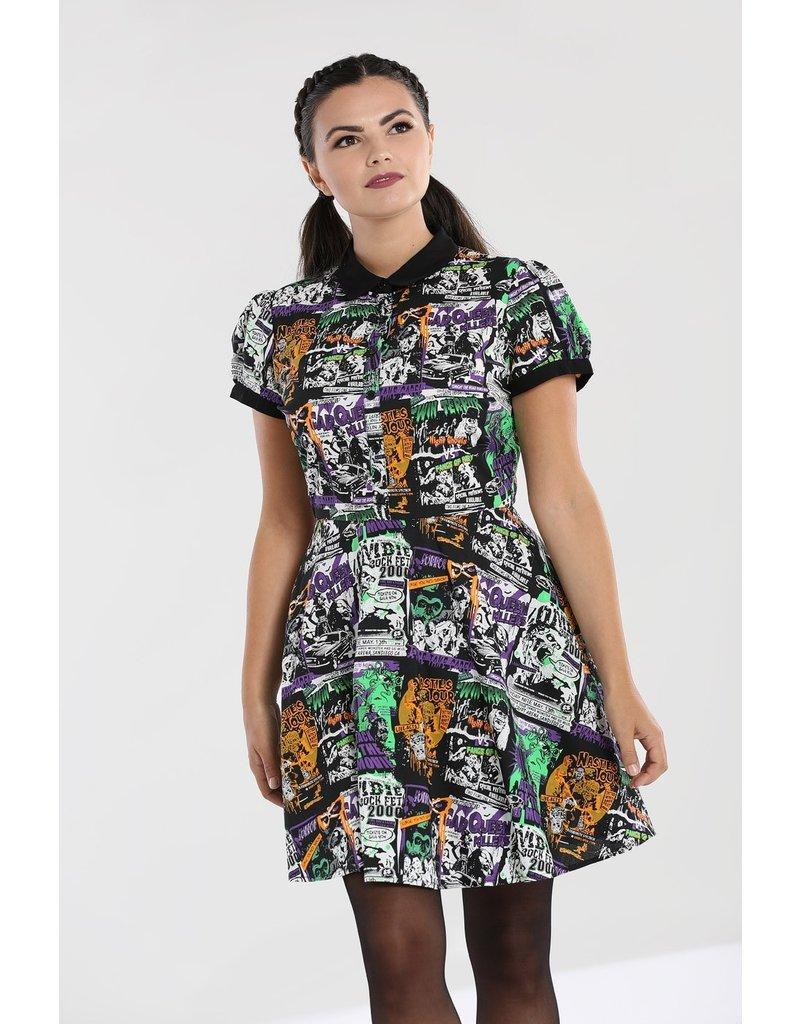 Hell Bunny PRE ORDER Hell Bunny Be Afraid Mini Dress