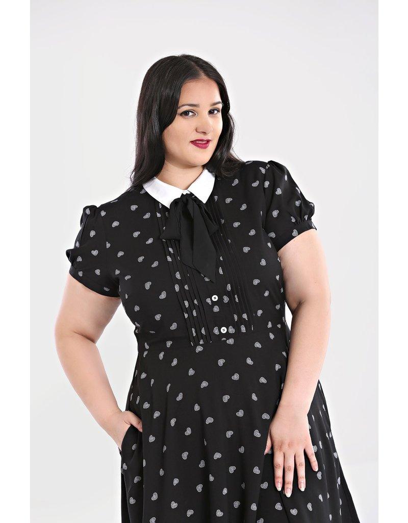 Hell Bunny PRE ORDER Hell Bunny Ribcage Mini Dress