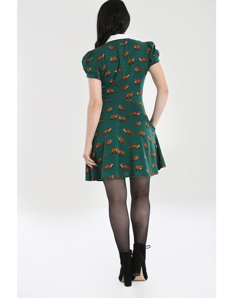 Hell Bunny PRE ORDER Hell Bunny Vixey Fox Mini Dress