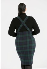 Hell Bunny Hell Bunny Evelyn Pinafore Pencil Skirt