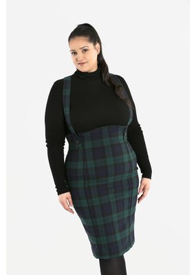 Hell Bunny PRE ORDER Hell Bunny Evelyn Pinafore Pencil Skirt