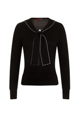 Hell Bunny PRE ORDER  Hell Bunny Connie Jumper Black