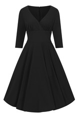 Hell Bunny PRE ORDER Hell Bunny Patricia Swing Dress Black