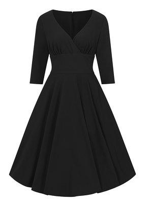 Hell Bunny PRE ORDER Hell Bunny Patricia Swing Dress Black