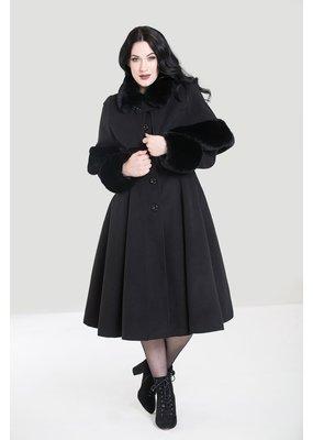 Hell Bunny PRE ORDER Hell Bunny Capulet Coat Black
