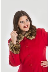Hell Bunny SPECIAL ORDER Hell Bunny Robinson Coat Red