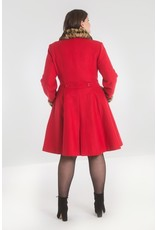 Hell Bunny PRE ORDER Hell Bunny Robinson Coat Red
