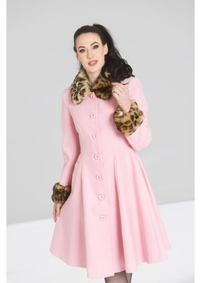 Hell Bunny SPECIAL ORDER Hell Bunny Robinson Coat Pink