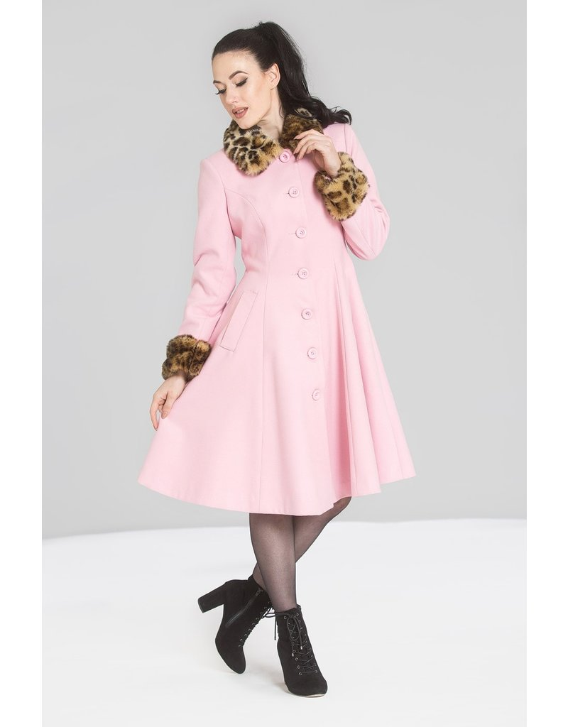Hell Bunny PRE ORDER Hell Bunny Robinson Coat Pink