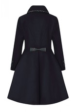 Hell Bunny PRE ORDER Hell Bunny Tiddlywinks Coat Navy