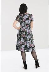 Hell Bunny PRE ORDER Hell Bunny 40s Magnolia Chiffon Dress