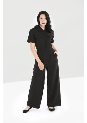 Hell Bunny Hell Bunny Abyss Military Boilersuit